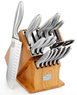 16-Piece Chicago Cutlery Knife Set with Block
