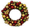 24 in. Diameter Shatterproof Ornament Wreath