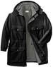 Big & Tall Solid Men's Hooded Parka Jacket by Boulder Creek