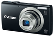 PowerShot A2300 Digital Camera (Refurb) + 8GB SD Card & Case