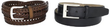 Dockers Men's Leather Wardrobe Belt Set