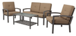 Threshold Smithwick 4-Piece Metal Patio Furniture Set