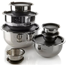 14-Piece Wolfgang Puck Stainless Steel Mixing Bowl Set