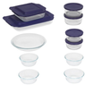 Pyrex 17-piece Bake 'N Store Set