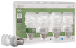 EcoSmart 9W Soft White Twister CFL Light Bulb, 4-Pack