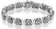 1-Total Carat Weight Bracelet in Sterling Silver