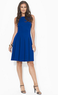 Women's Sleeveless Pleated Dress