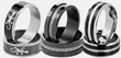 Stainless Steel Men's Rings