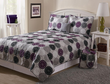 Essential Home Tile Medallion 5 Piece Quilt Set