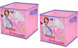 Disney Sofia the First Set of 2 Storage Cubes
