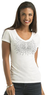 Kardashian Kollection Women's Studded Starburst T-Shirt