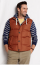 Lands' End Men's City Down Vest