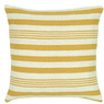 Rizzy Home Yellow Stripe Pillow