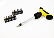 Universal Tool 16-Piece T-Handle Ratchet Screwdriver Set