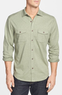 Tommy Bahama Men's Southbank Cotton & Silk Sport Shirt