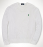 Men's Athletic Cotton Mesh Crewneck