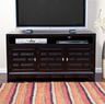 Carmina Woven Front TV Stand
