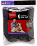 Hanes Men's Cushion Low Cut Socks 6-Pack
