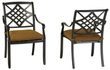 allen + roth Whitley Place Dining Chairs 2-Piece Set