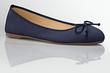 Women's Jilly Laser-Cut Leather Ballet Flats