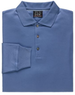 JoS. A. Bank Men's Signature Long-Sleeve Cotton Polo