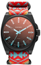DIESEL NSBB Round Nylon Strap Watch