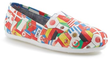 TOMS Women's Classic World Cup Slip-On Shoes