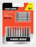 Black & Decker 15-Pc. Power Bits Set