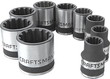 Craftsman 9-Piece Metric Universal Socket Accessory Set