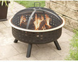 Hometrends Lattice Fire Pit