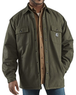 Carhartt Men's Chore Flannel Quilt-Lined Jacket