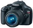 Canon EOS Rebel T3 + 18-55mm IS II Lens Kit (Refurbished)