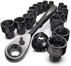 Craftsman 19-Piece Universal Max Axess Socket / Ratchet Set