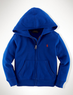 Boys' Cotton Fleece Full-Zip Hoodie