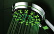 HotelSpa LED/LCD Luxury Hand Shower with Temperature Display