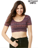 Women's Southwest Scoop-Back Crop Top