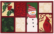 Nourison 17 x 28 Holiday Doormat