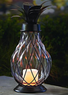 Garden Oasis LED Pineapple Lantern