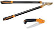 Fiskars Titanium Bypass Lopper and Saw Set