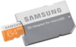 Samsung 64GB EVO Class 10 microSD Card w/ Adapter