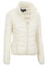 Black Rivet Women's Lightweight Packable Puffy Jacket
