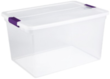 Sterilite Latching 66-Quart Storage Tote 6-Pack