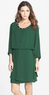 Greylin Women's Claire Beaded Blouson Dress