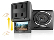 Papago GoSafe 200 Clip-Mount Dashcam