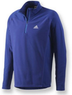 adidas Men's Hiking 1-Sided Fleece Half-Zip Jacket