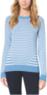 Women's Striped Cotton-Blend Sweater