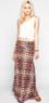 Full Tilt Abstract Chevron Print Maxi Skirt
