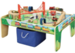 Wooden 50pc Train Set w/ Small Table