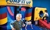 Pump It Up Coupons Fort Worth, Texas Deals