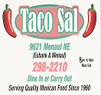 Taco Sal Coupons Albuquerque, NM Deals